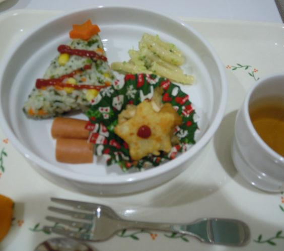 クリスマス給食