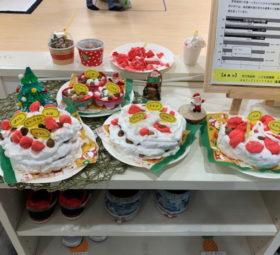 こども製作クリスマスケーキ